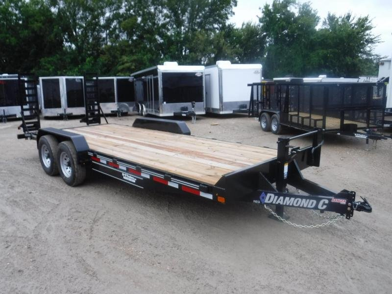 2018 Diamond C Trailers 82x20 REQ Equipment Trailer