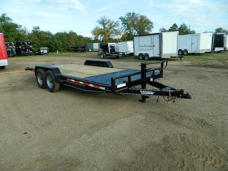 2018 Buck Dandy 82 x 20 Equipment Trailer in Willisville, AR