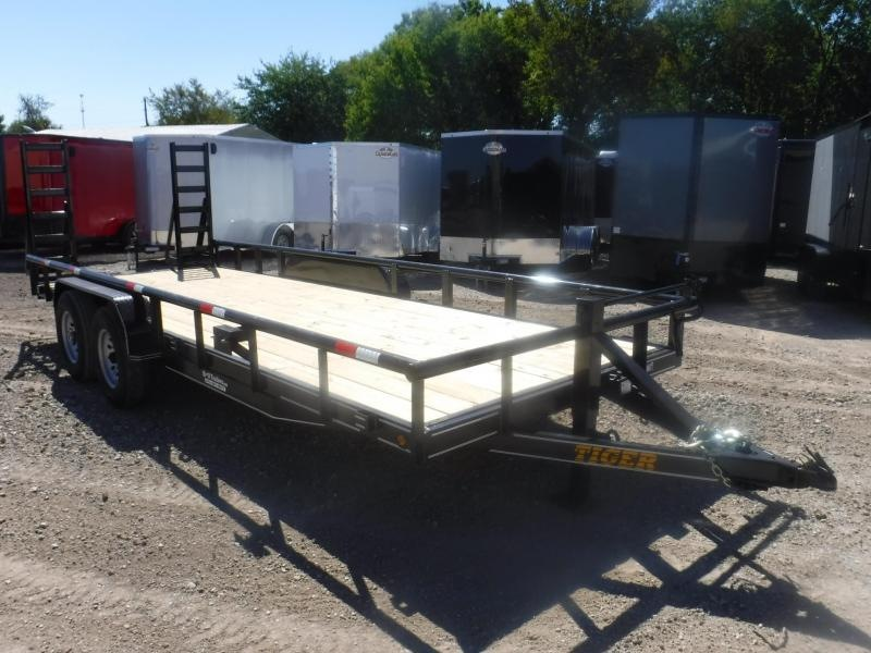 2019 Tiger 83 x 20 Pipe Top Equipment Trailer in Ashburn, VA