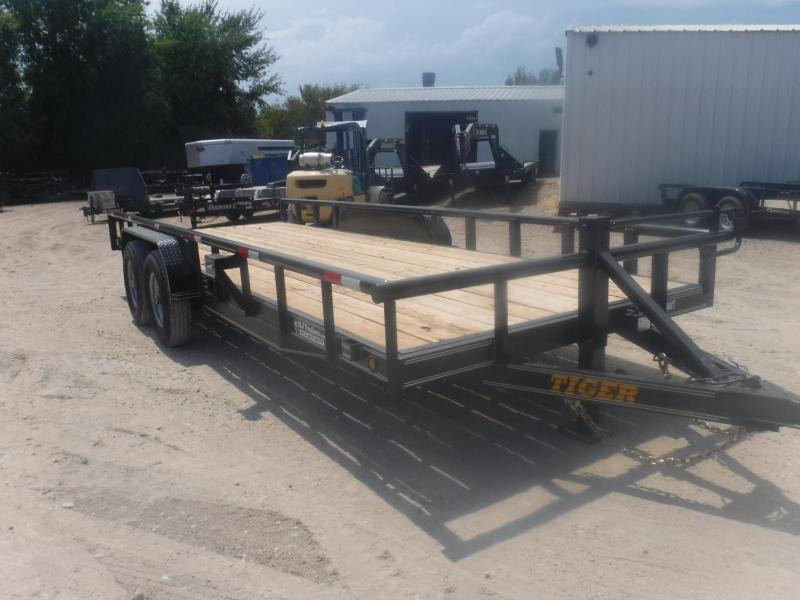 2019 Tiger 83 x 20 Pipe Top Equipment Trailer