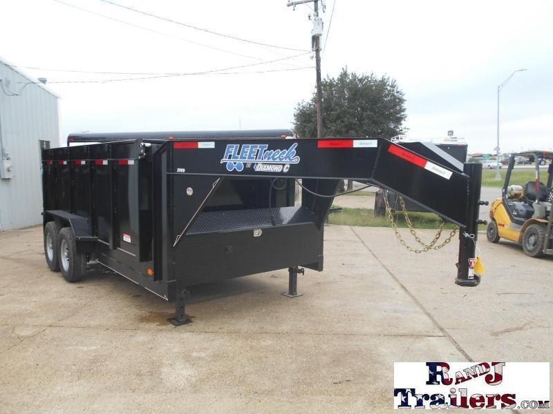 2018 Diamond C Trailers 82 x 14 21WD GN  Dump Trailer
