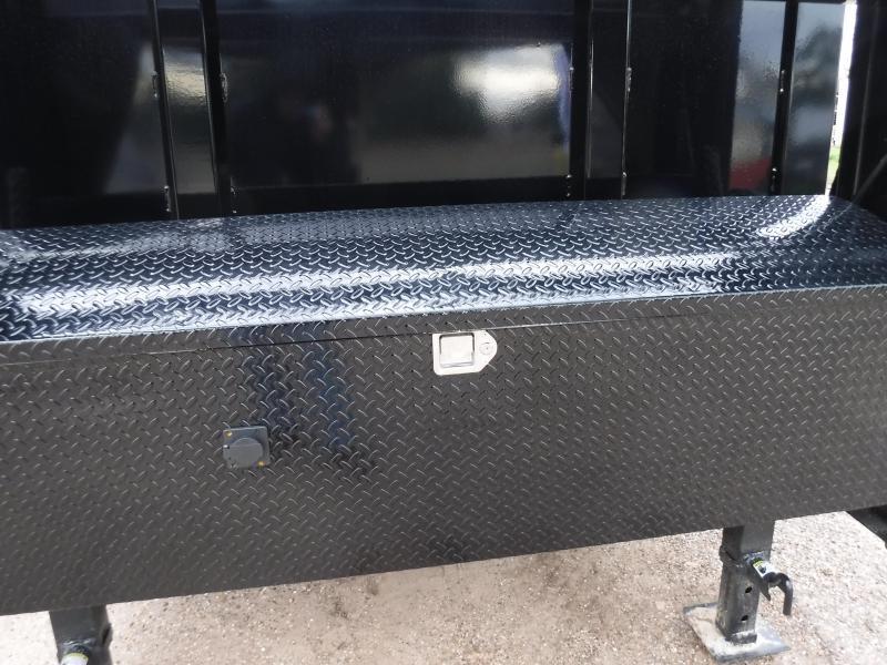 2019 Diamond C Trailers 82 x 14 21WD GN  Dump Trailer