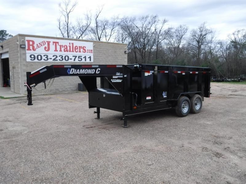 2019 Diamond C Trailers 82 x 14 21WD GN  Dump Trailer in Ashburn, VA
