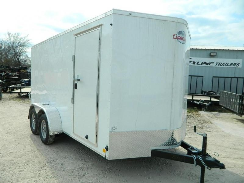 2019 Cargo Mate 7 x 14 TXLV TA Enclosed Cargo Trailer in Ashburn, VA