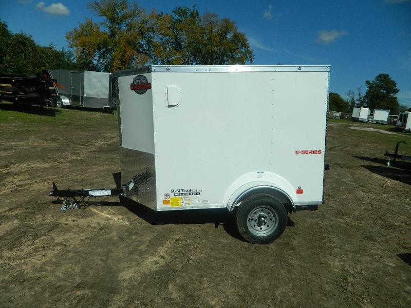 2018 Cargo Mate 4 x 6 E-series Enclosed Cargo Trailer