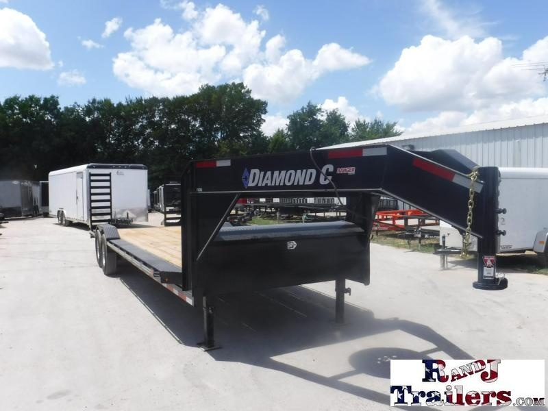 2018 Diamond C Trailers 82 x 24 REQ Equipment Trailer