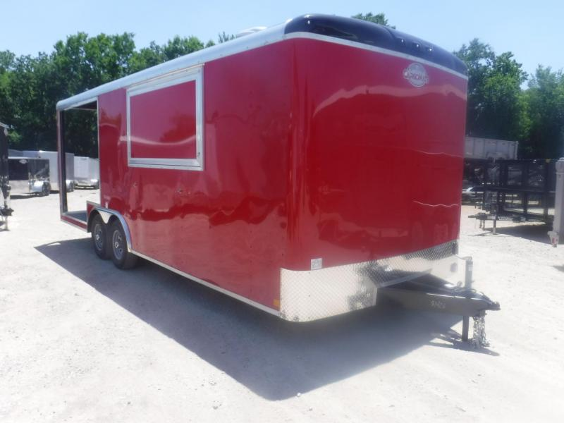 2019 Cargo Craft 8.5 x 22 Concession / Vending Trailer