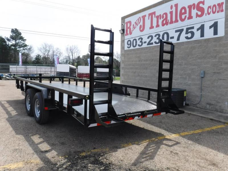 2019 Buck Dandy 82 x 20 Equipment Trailer