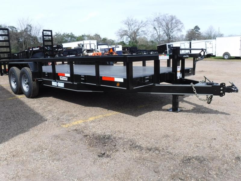 2019 Buck Dandy 82 x 20 Equipment Trailer in Willisville, AR