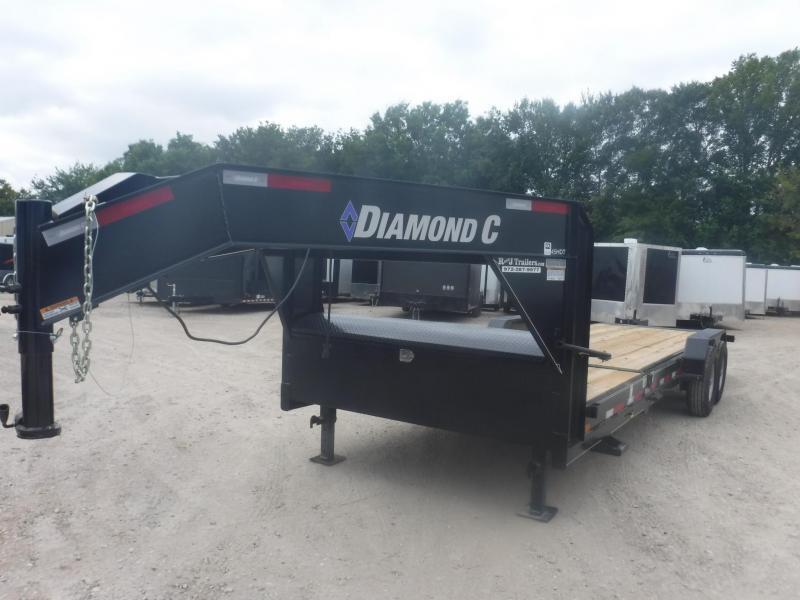 2018 Diamond C Trailers 82 x 24 45HDT Equipment Trailer