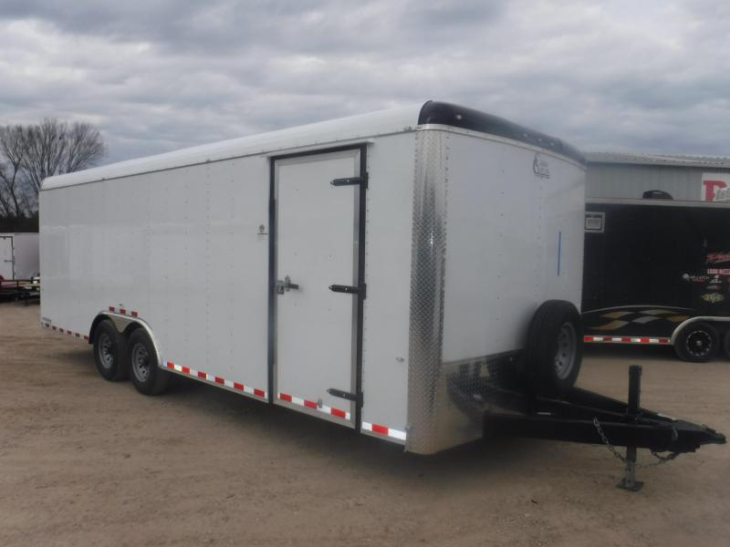 2019 Cargo Craft 8.5 x 24 Expedition Enclosed Cargo Trailer