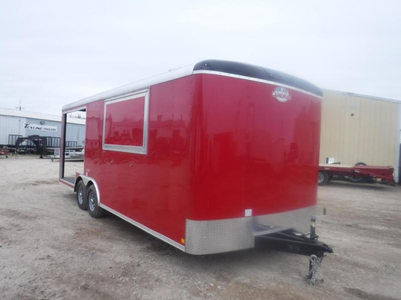 2019 Cargo Mate 8.5 x 22 Blazer Vending / Concession Trailer