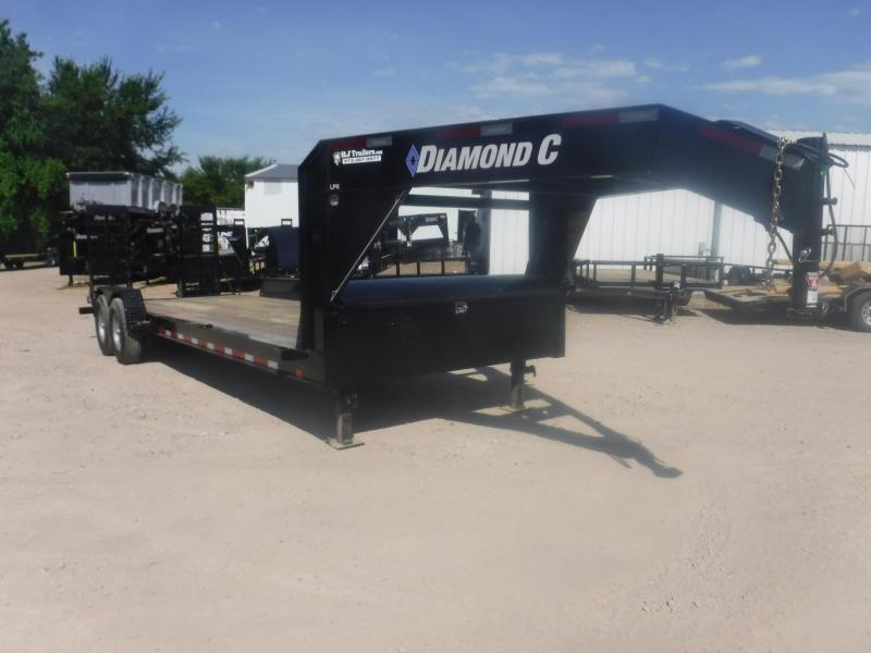 2019 Diamond C 82x24 LPX207 GN Equipment Trailer