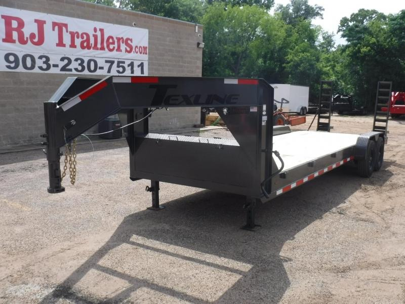 2019 TexLine 83 x 24 Bobcat Gooseneck Equipment Trailer in Willisville, AR