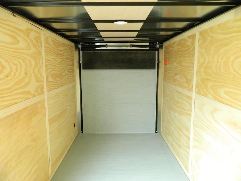 2018 Cargo Mate 7 x 14 TXLV TA Enclosed Cargo Trailer