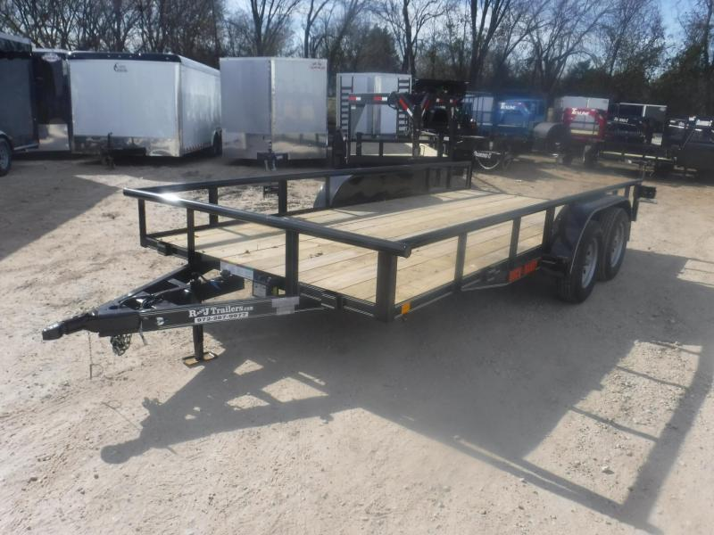 2019 Buck Dandy 83 x 16 Utility Trailer