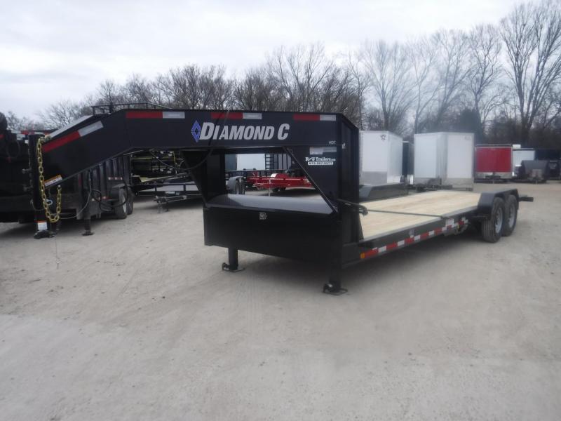 2019 Diamond C Trailers 82 x 24 HDT207 Equipment Trailer