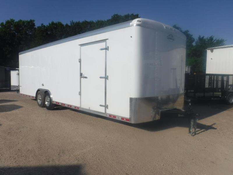 2019 Cargo Mate 8.5 x 28 Qualifier Enclosed Cargo Trailer