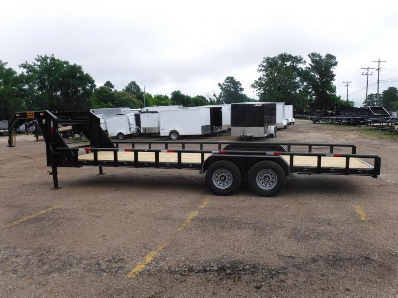 2019 Tiger 83 x 24 Bobcat Gooseneck Equipment Trailer