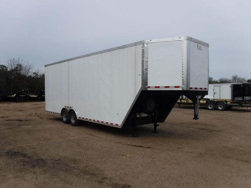 2019 Cargo Craft 8.5 x 32 Gooseneck Enclosed Cargo Trailer