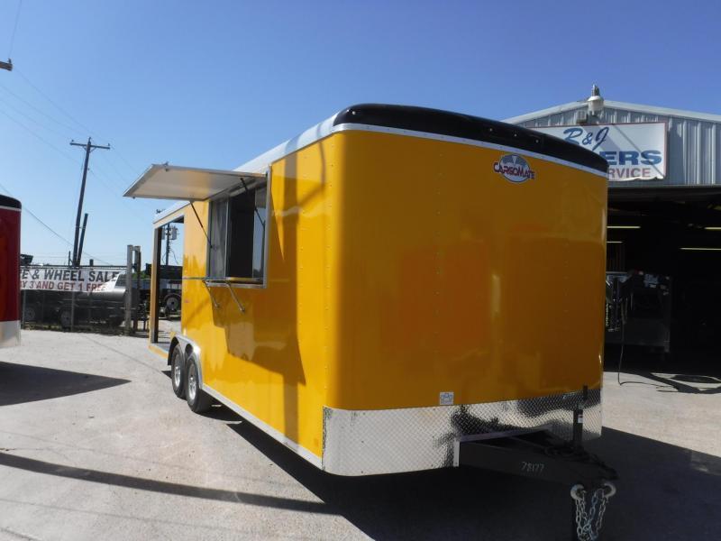 2019 Cargo Mate 8.5 x 22 Blazer Vending / Concession Trailer