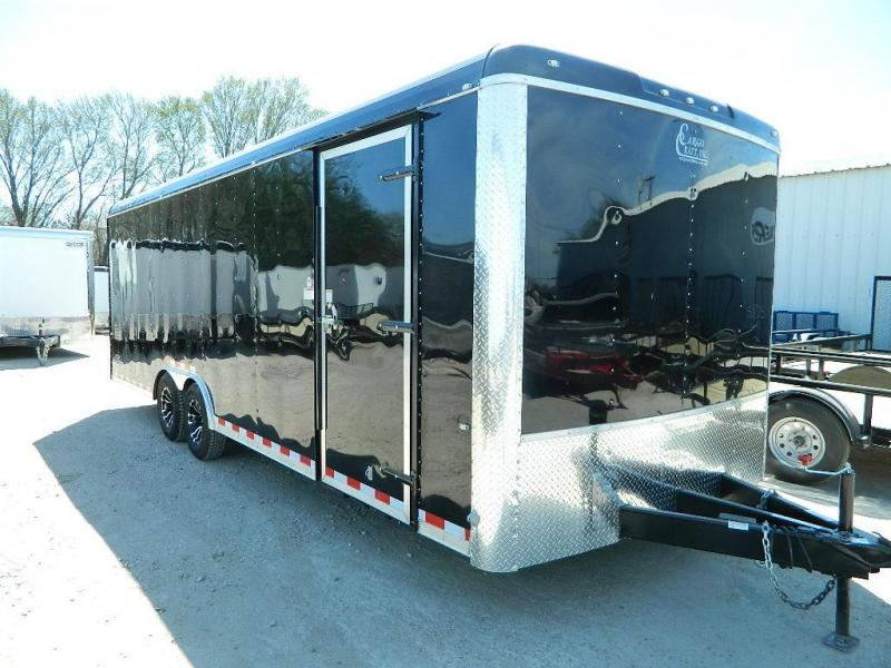 2018 Cargo Craft 8.5 x 24 Dragster Enclosed Cargo Trailer