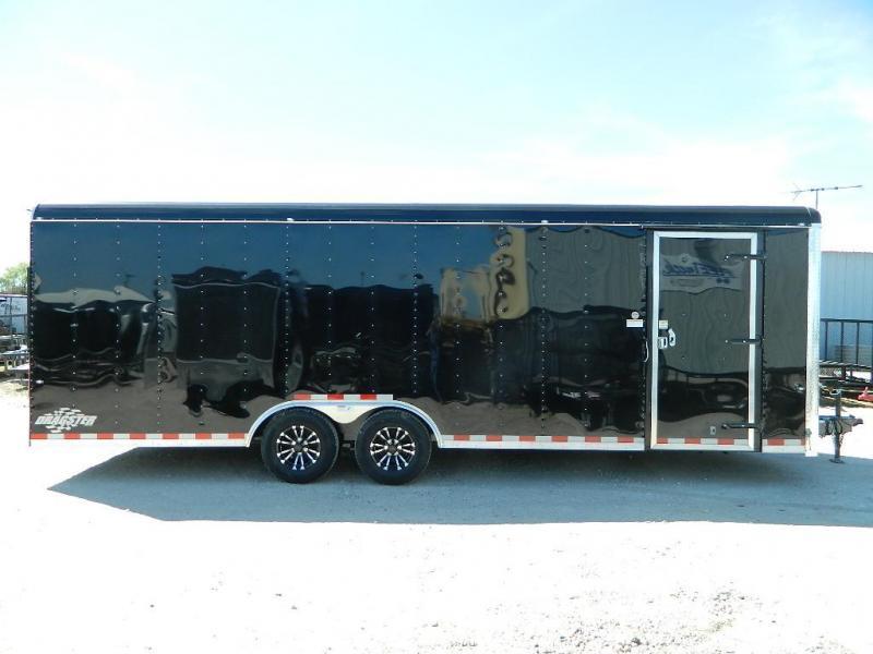 2018 Cargo Craft 8.5 x 24 Dragster Enclosed Cargo Trailer