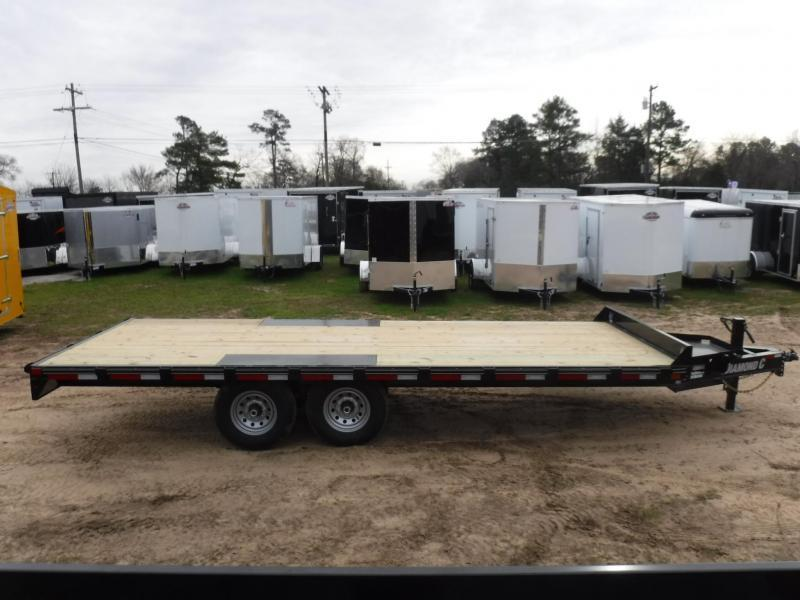 2019 Diamond C Trailers 102 x 20 DEC207 Equipment Trailer