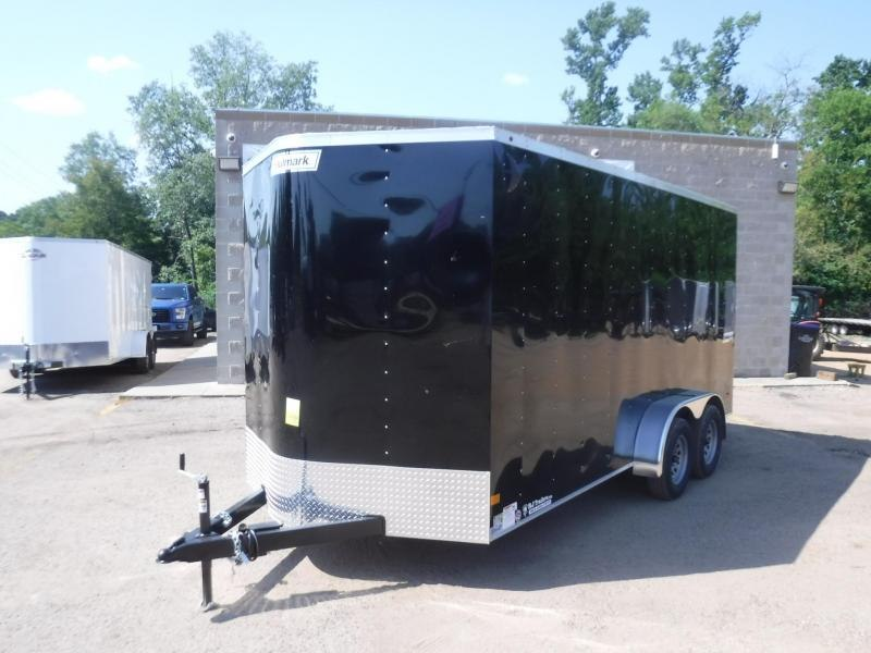 2019 Haulmark Deluxe 7 x 16  Enclosed Cargo Trailer