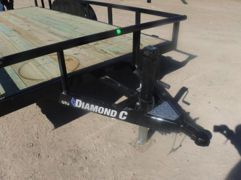 2019 Diamond C Trailers 83 x 16 GTU235 Utility Trailer