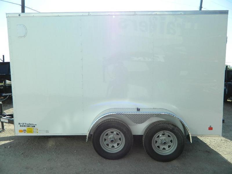 2018 Cargo Mate 6 x 12 TXLV Enclosed Cargo Trailer