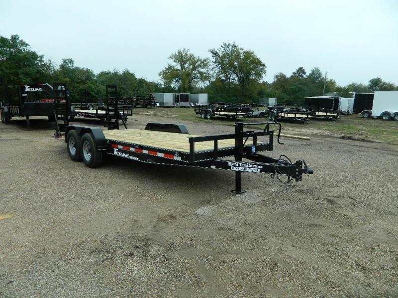 2018 TexLine 83 x 20 Bobcat Equipment Trailer