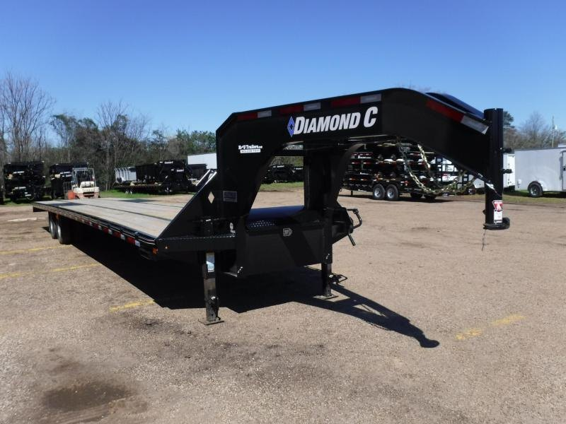 2019 Diamond C Trailers 102 x 40 Fmax210 Equipment Trailer in Texarkana, AR