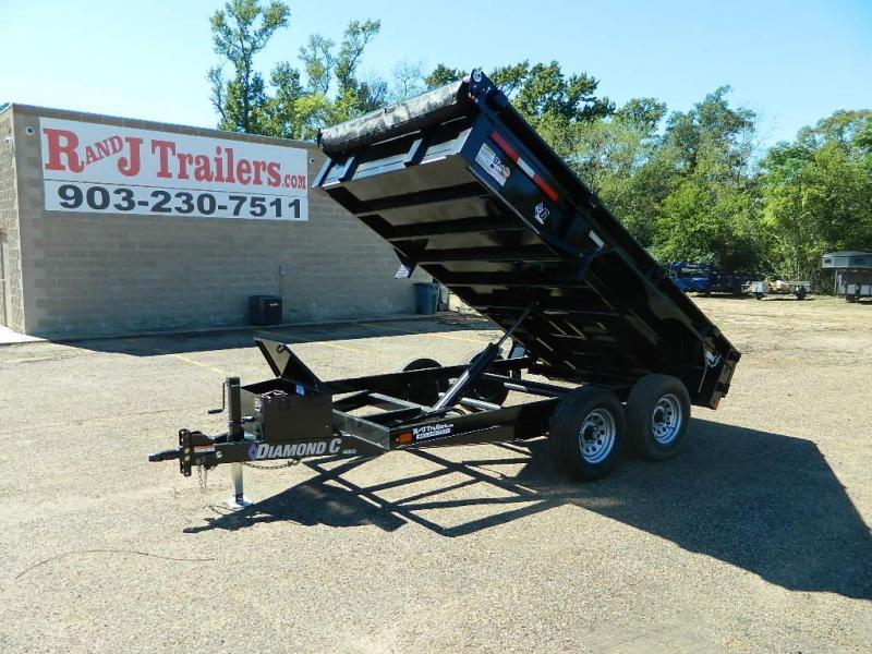 2018 Diamond C Trailers 77 x 12 46ED Dump Trailer