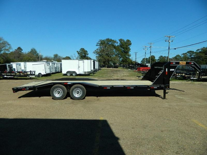 2018 Tiger 102x24 Gooseneck Equipment Trailer
