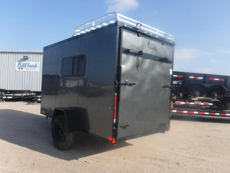 2019 Cargo Craft 6 x 12 Off Road Enclosed Cargo Trailer
