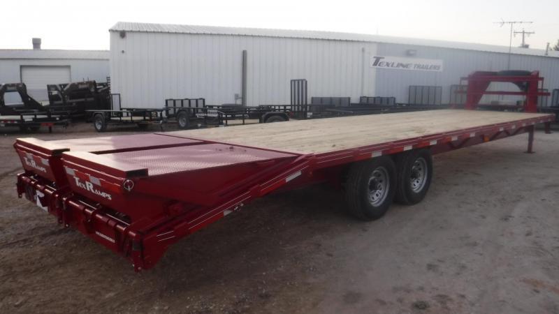 2019 TexLine 102 x 32 Gooseneck Equipment Trailer