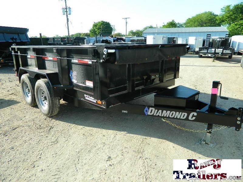 2018 Diamond C Trailers 82 x 12 21WD Dump Trailer