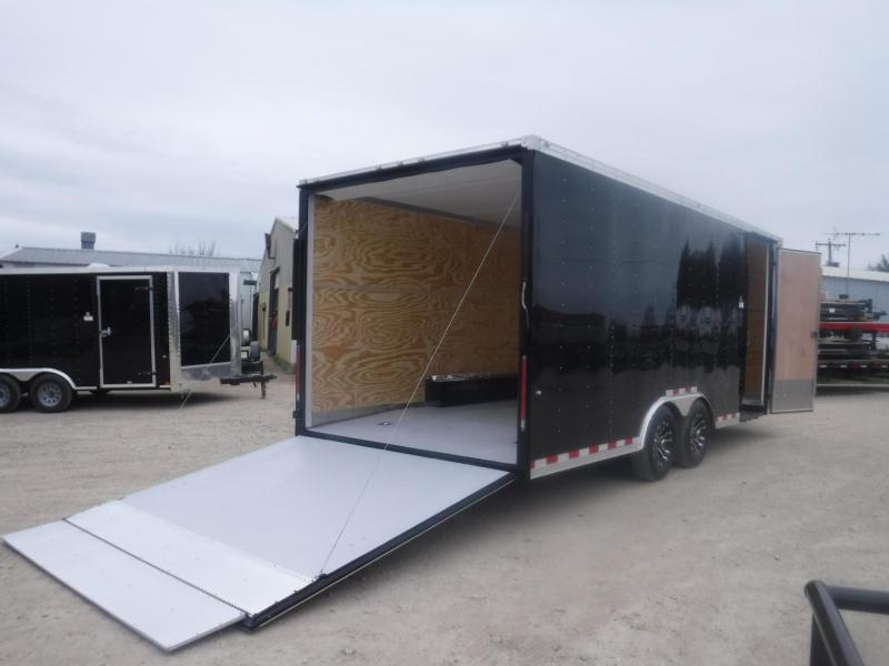 2019 Cargo Craft 8.5 x 20 V-Nose Dragster Enclosed Cargo Trailer