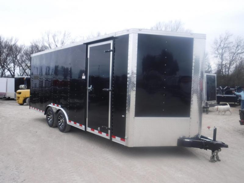 2019 Cargo Craft 8.5 x 20 V-Nose Dragster Enclosed Cargo Trailer