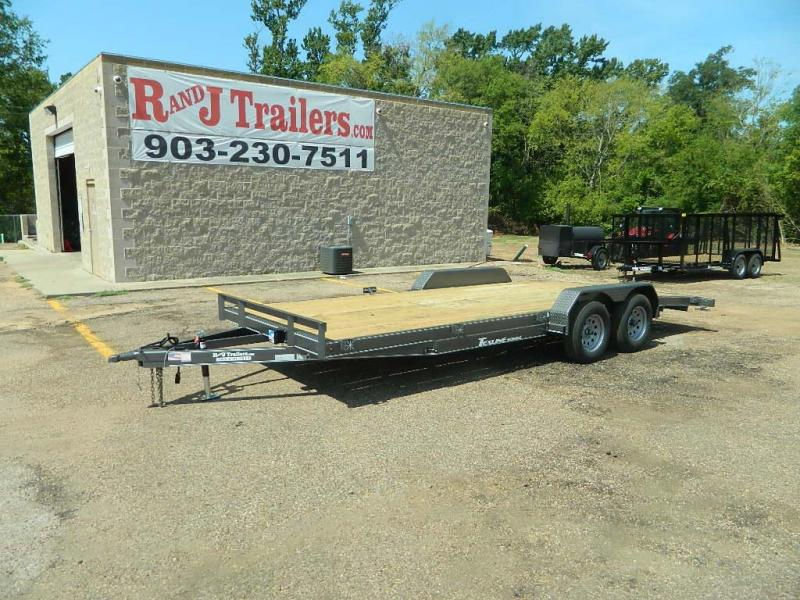 2018 TexLine 83 x 20 Deluxe Car / Racing Trailer