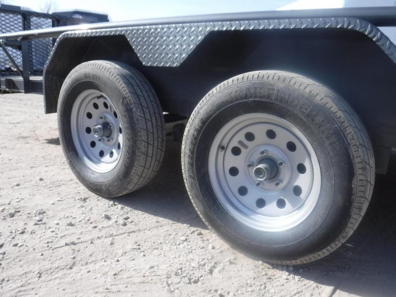 2019 TexLine 83 x 18 ATV Trailer