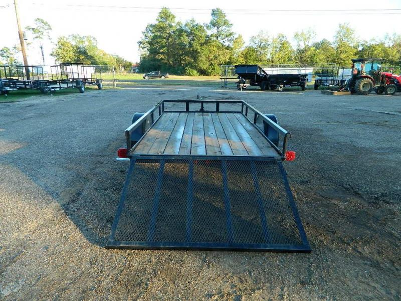2018 Triple Crown 77x12 Utility Trailer
