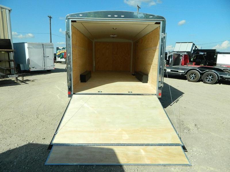 2018 Cargo Mate 8.5 x 20 Qualifier Enclosed Cargo Trailer