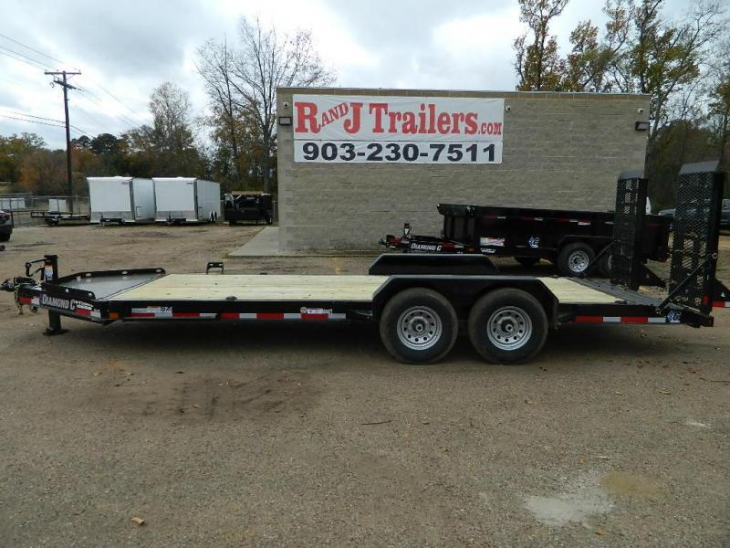 2018 Diamond C 82x20 19LPX Equipment Trailer
