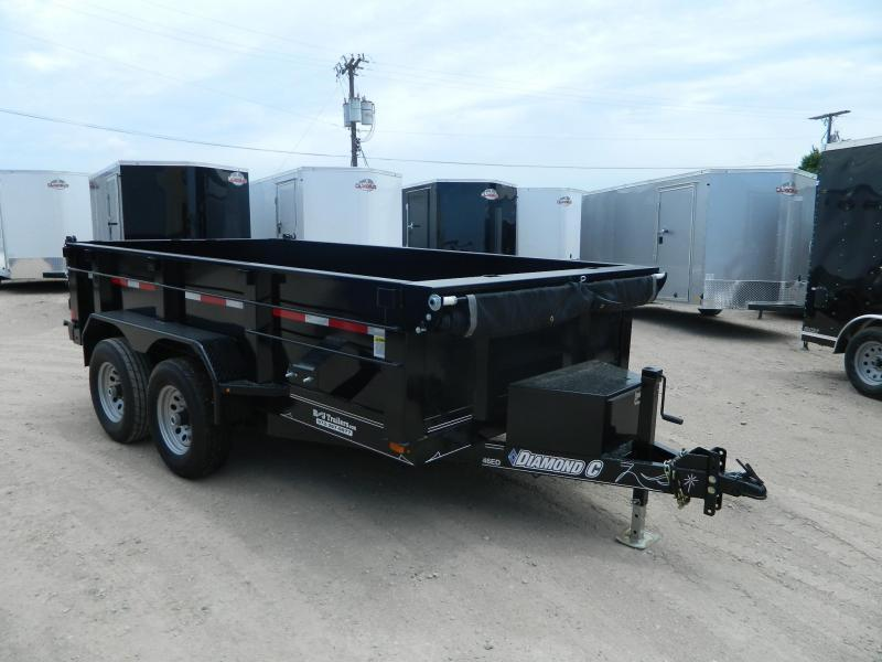2019 Diamond C Trailers 77 x 12 46ED Dump Trailer in Ashburn, VA