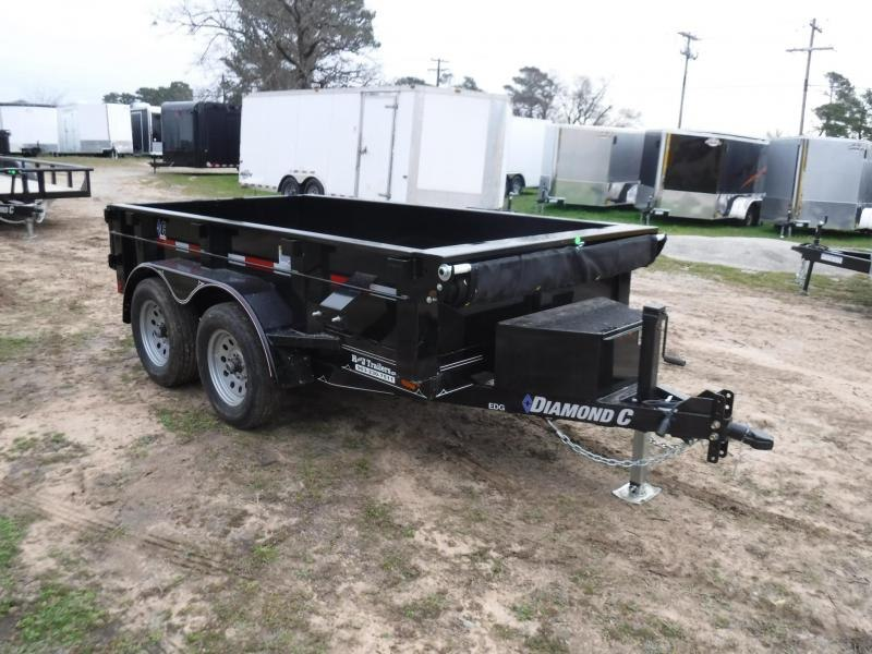 2019 Diamond C Trailers 5 x 10 EDG Dump Trailer in Ashburn, VA
