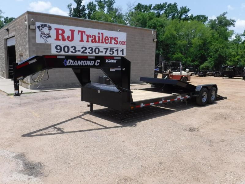 2019 Diamond C Trailers 82 x 24 45HDT Equipment Trailer