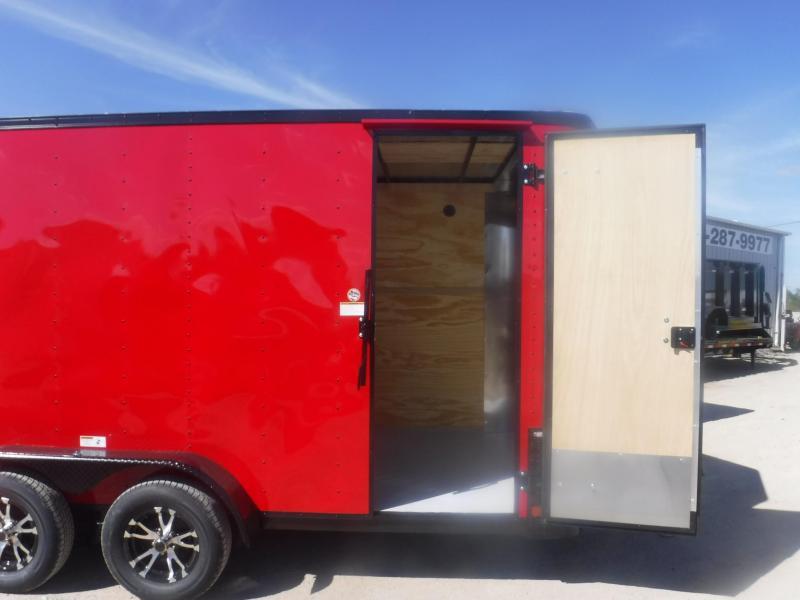 2019 Cargo Craft 7x14 Elite-V Enclosed Cargo Trailer