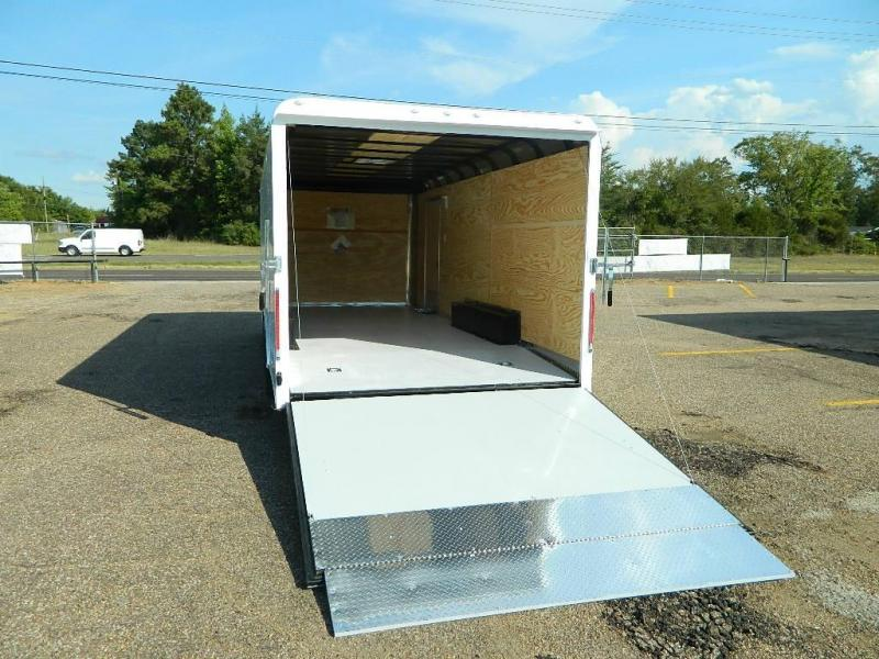 2018 Cargo Craft 8.5 x 20 Dragster Enclosed Cargo Trailer